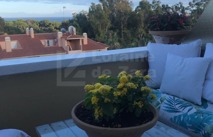 Beautiful duplex apartment in Carib Playa, Marbella
