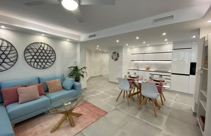Modern renovated and furnished apartment in the heart of Marbella