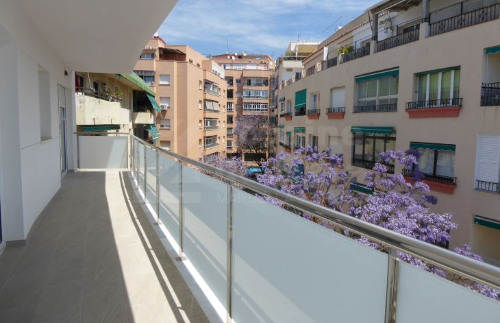 Brand new 3 bedroom apartment in Marbella center.