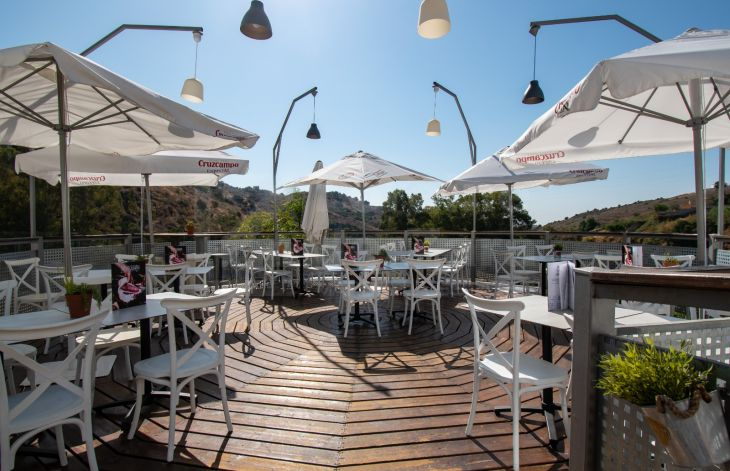 Equestrian club and restaurant in Marbella