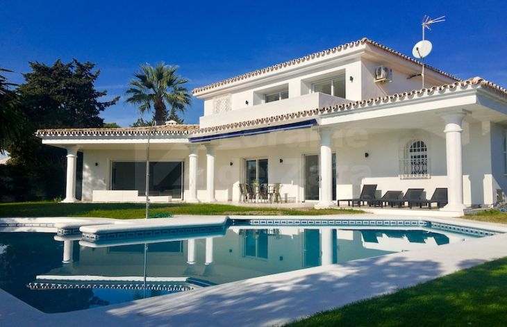 Modern villa in Guadalmina completely renovated next to the golf courses