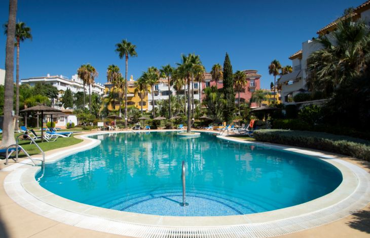 Cozy 2 bedroom duplex penthouse on the Golden Mile of Marbella
