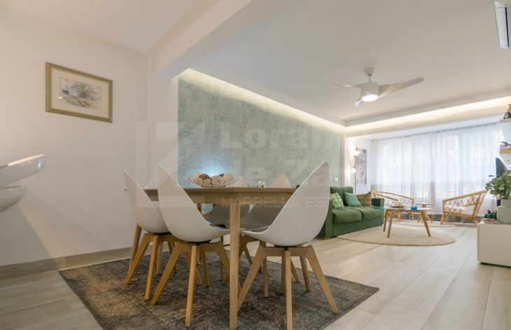 Impeccable renovated 3 bedroom apartment in Marbella Center