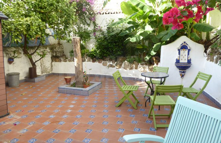 Wonderful town house in the old town of Marbella completely renovated