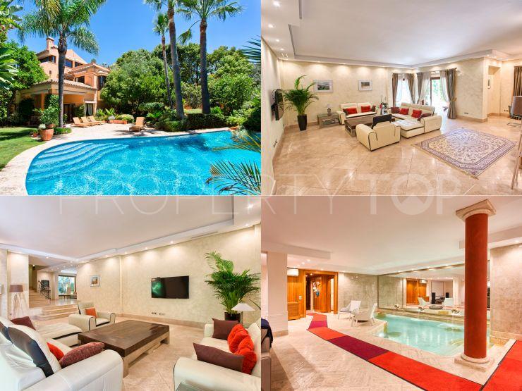 Buy 5 bedrooms villa in Altos de Puente Romano, Marbella Golden Mile | Drumelia Real Estates