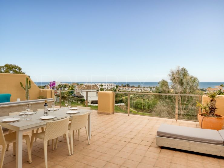 Penthouse for sale in La Resina Golf with 2 bedrooms | NJ Marbella Real Estate