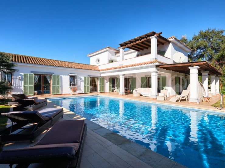 For sale Sotogrande Costa 4 bedrooms villa   Berkshire Hathaway Homeservices Marbella