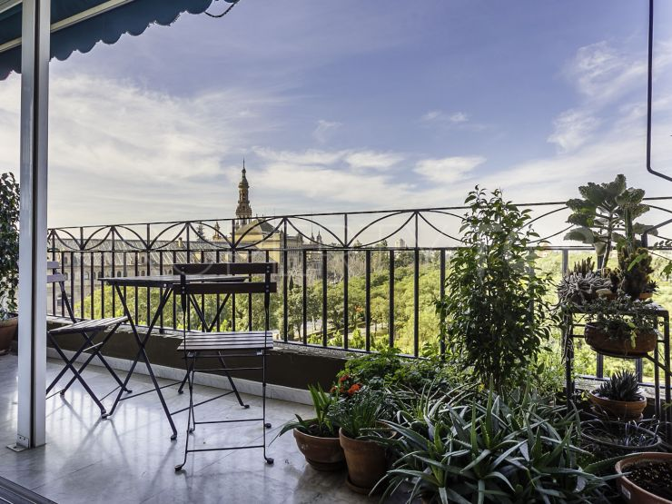 Prado de San Sebastian - Felipe II 4 bedrooms flat | KS Sotheby's International Realty - Sevilla