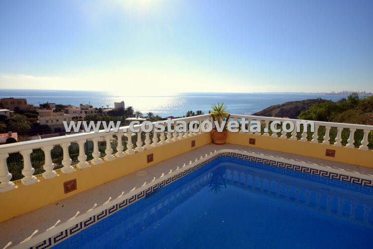 Very Charming property with idyllic Mediterranean views and pool