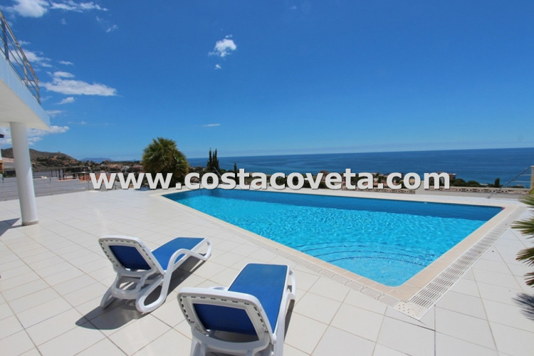 Luxury modern villa with breathtaken sea views in la Coveta Fuma
