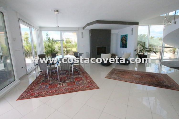 Luxury modern villa with breathtaken sea views in la Coveta Fuma