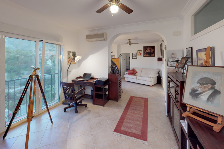 Exclusive property with heated pool at la Coveta Fuma