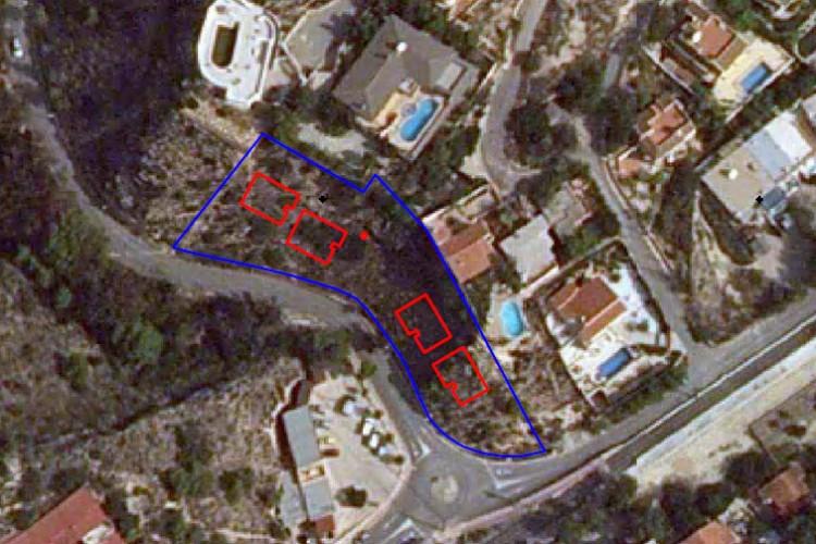 El Campello, Plot and project to build 4 villas.