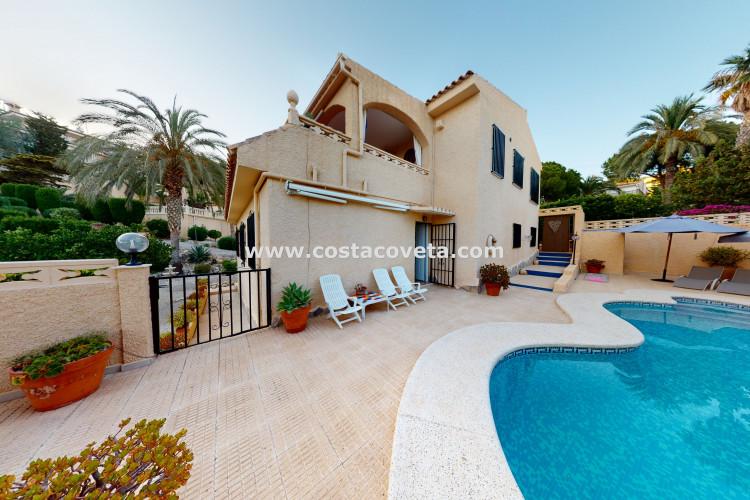 El Campello, Wonderful villa with breathtaken Mediterranean views in la Coveta Fuma