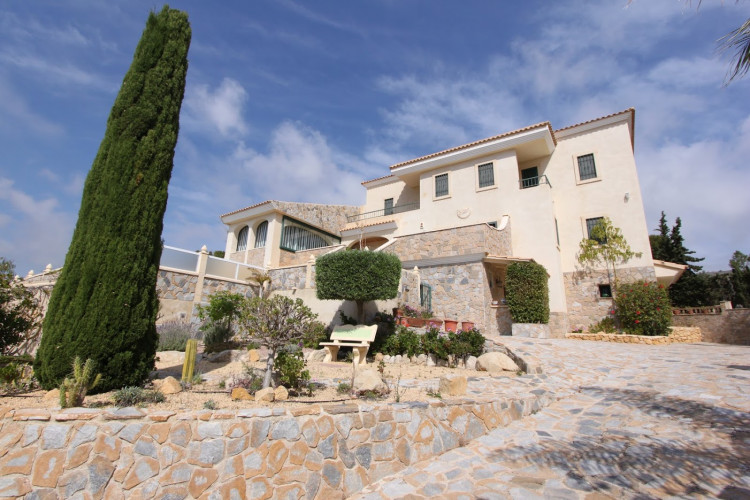 El Campello,  Impressive property with unique views to the Mediterranean with apartment in Campello