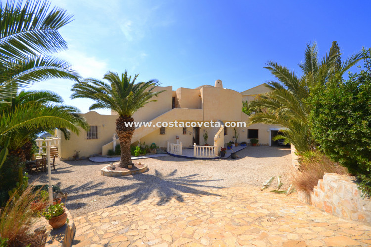 El Campello, Wonderful Ibiza style villa in la Coveta Fuma