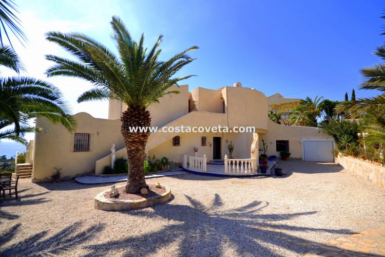 El Campello, Wonderful Ibiza style villa in la Coveta Fuma