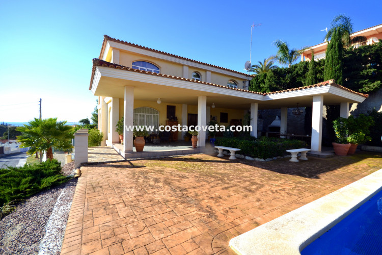 Impressive villa at la Coveta Fuma