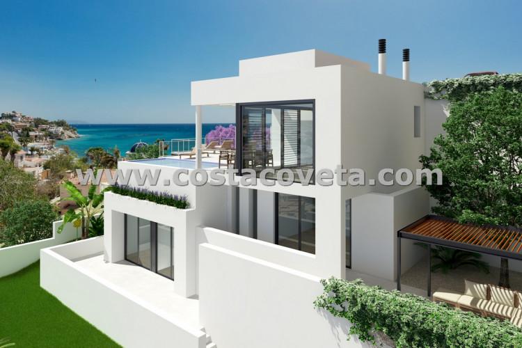 El Campello, Under Development, brand new modern villa in la Coveta Fuma with sea view
