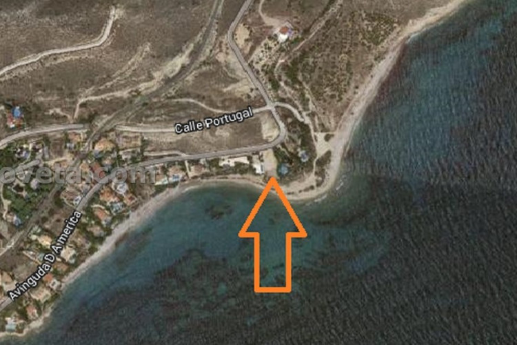 El Campello, Beautiful plot on the first line of sea in Coveta Fuma El Campello.