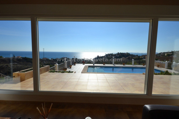 El Campello, Beautiful and charming villa with pool and elevator in la Coveta Fuma