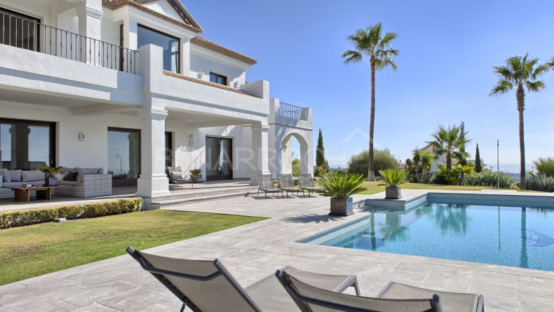 Benahavis, Los Flamingos, Villa with spectacular views