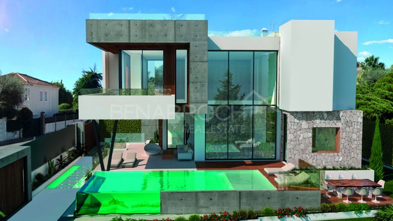 Modern style villa in Casablanca, Marbella Golden Mile