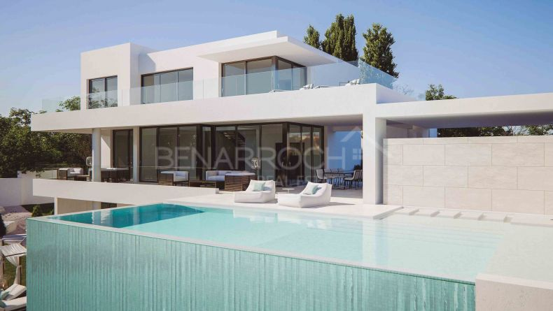 Contemporary design villa in Mirador del Paraiso, Benahavis