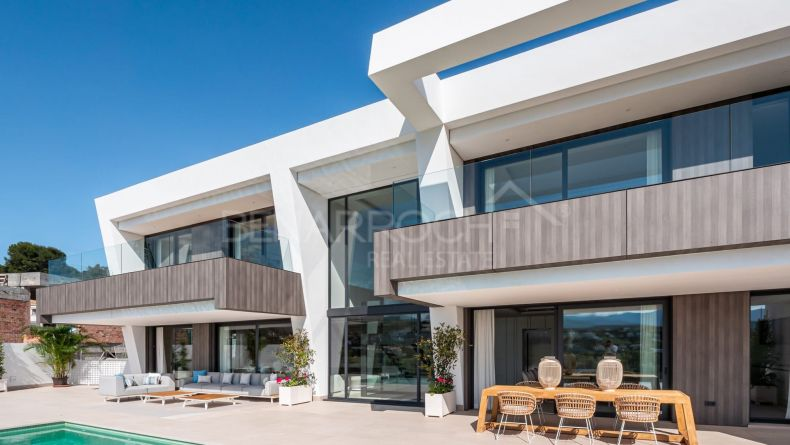 Modern design villa in Light Blue Villas, Estepona