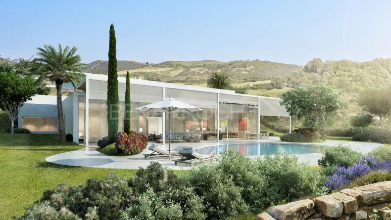 Villa of contemporary style in Finca Cortesin, Casares