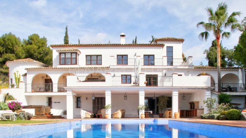Magnifique villa à La Carolina, Golden Mile de Marbella