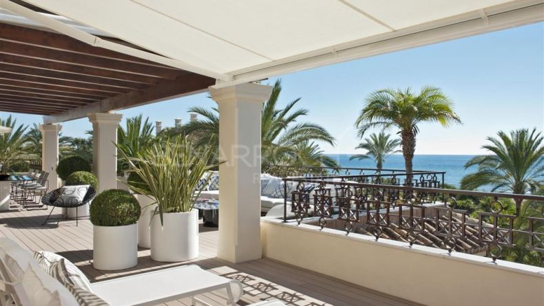Los Monteros Playa, luxury penthouse on the beach front