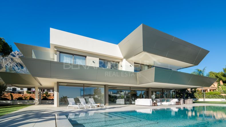 Contemporary villa in Sierra Blanca, Golden Mile, Marbella