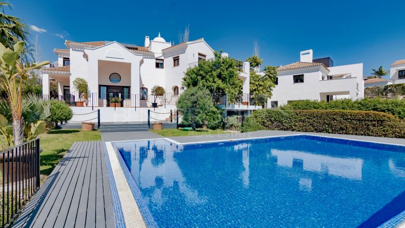 Villa in Capanes Sur next to La Alqueria, Benahavis