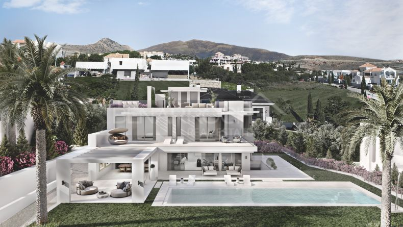 Contemporary design villa in Los Flamingos, Benahavis