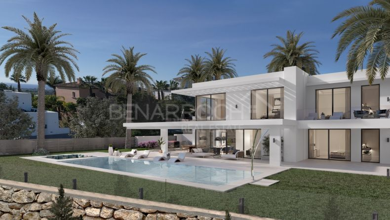 New construction villa in Los Flamingos, Benahavis