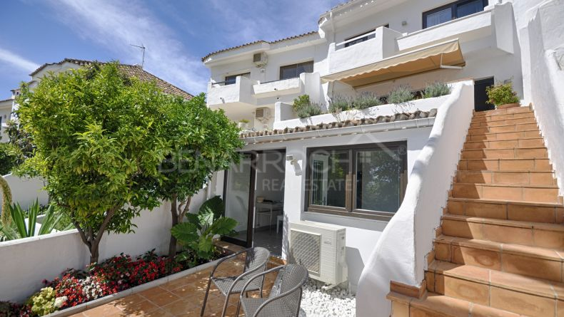 Renovated townhouse in Ancon Sierra, on the Golden Mile, Marbella