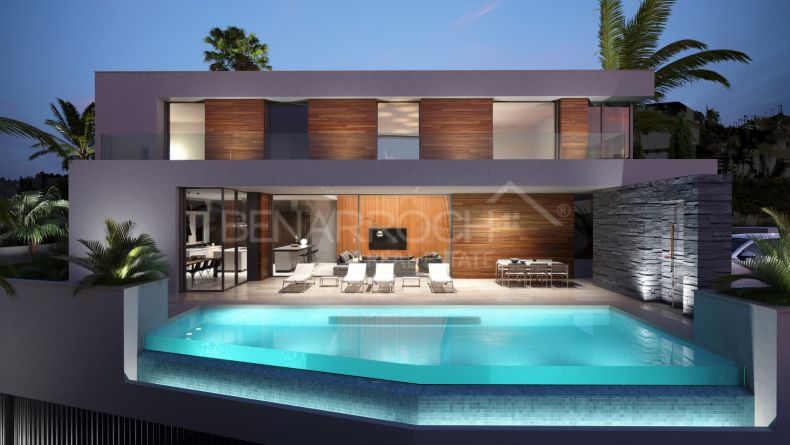Villa of contemporary design in Benahavis, El Herrojo