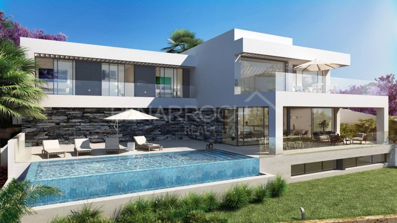 Modern design villa in Los Flamingos Views, Benahavis