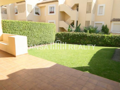 GROUND FLOOR APARTMENT MARBELLA GOLDEN MILE - Apartment for rent in Nagüeles, Marbella Golden Mile