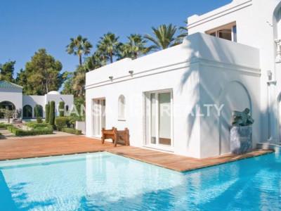 Marbella: Villa in Guadalmina Baja