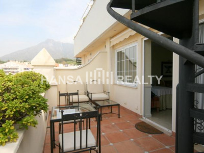 Marbella: Penthouse in Hotel Guadalpín - Penthouse for rent in Marbella Golden Mile