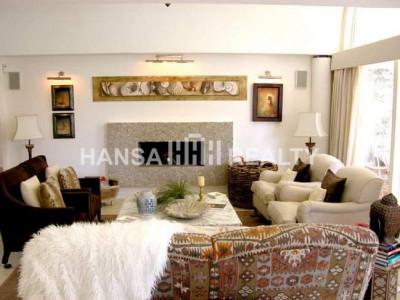 Contemporary villa in Sotogrande Costa with beautiful design