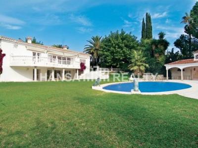 Eindrucksvolle Villa an der Goldenen Meile von Marbella