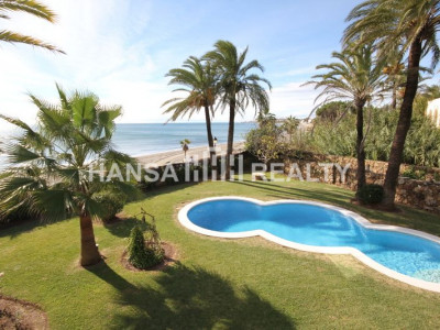 MODERN VILLA BEACHFRONT MARBELLA GOLDEN MILE