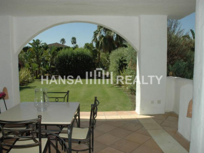 Groundfloor apartment in El Polo de Sotogrande