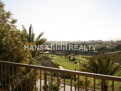 Frontline golf apartment with panoramic views