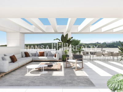 Stylish new apartments in Casares Costa Golf Valley A