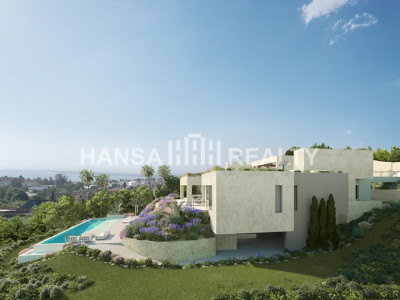 SPECTACULAR AND ORIGINAL VILLA UNDER CONSTRUCTION  BENAHAVIS
