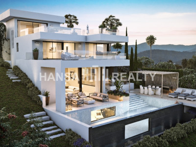 PLOT WITH NEW VILLA PROJECT NUEVA ANDALUCIA MARBELLA
